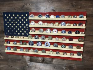 Challenge Coin Holder Archives - Veteran Made Woodworks
