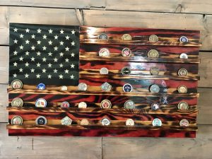 Rustic Glory Challenge Coin Holder